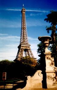 widokówka z Paryża