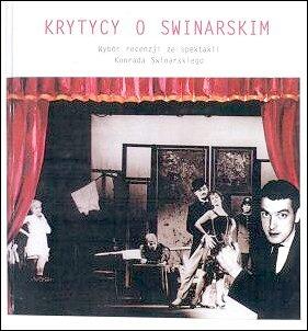 Okładka promowanej książki pt.: 'Krytycy o Świnarskim'