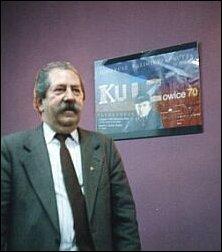 Henryk Lechnert, filmowiec-amator, był jednym z gości katowickiego przeglądu