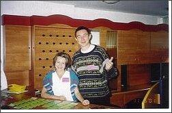 Tomasz Nowak i Patrycja Lesińska w oczekiwaniu na gości