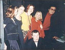 Z reżyserem spektaklu Gianfranco Evangelistą