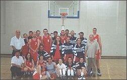 drużyna koszykówki