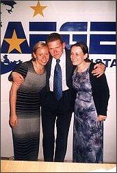 Katowice w Europie! Od lewej: Dominika Wiora, Bartłomiej Nowak, Betina Szkudlarek