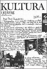 Katalog wystawy pt.: 'Kultura i jej krąg 1946-1986', zorganizowanej w Bibliotece Polskiej w Paryżu na 40-lecie 'Kultury'