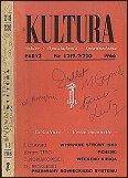 Egzemplarz 'Kultury' ze zbiorów Józefa Czapskiego (zawiera m.in. 'Wyrwane strony')