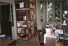 Pokój Henryka Giedroycia. Tu mieści się biblioteka. foto: M. Kubik