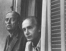 Witold Gombrowicz i Konstanty Jeleński, foto: Archiwum IL