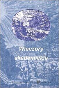 Publikacja dokumentująca pięć pierwszych wieczorów akademickich (m. in. wykłady R. Kapuścińskiego, W. Stróżewskiego, K. Kutza)