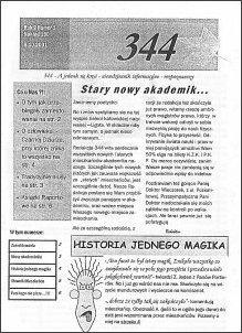 okładka gazetki lokalnej