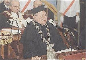 Doktorat Honoris Causa - Andrzej Lasota. Foto: W. Ziółkowski
