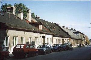 Domy tkaczy (XIX w.) przy ul. Jana III Sobieskiego
