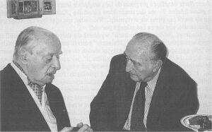 Leopold Unger z Jerzym Giedroyciem