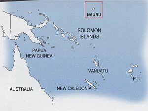 mapa; foto: The Australian