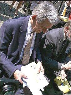 Od lewej: Prof. Jerzy Buzek
