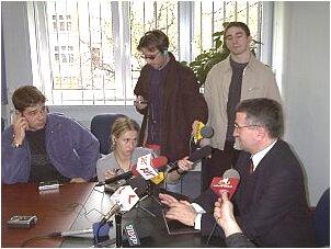 Konferencja dla dziennikarzy