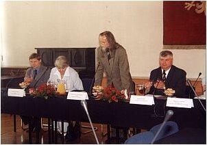 Spotkanie otworzył JM Rektor UŚ prof. Tadeusz Sławek