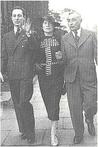 Władysław Szpilman z rodzicami