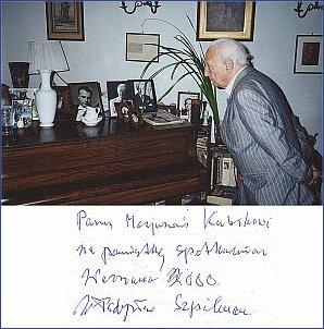 Kompozytor w swym warszawskim domu
