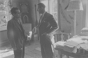Lucjan Wolanowski w gościnie u Thora Heyerdahla