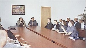 Złoci medaliści na spotkaniu z Rektorem UŚ