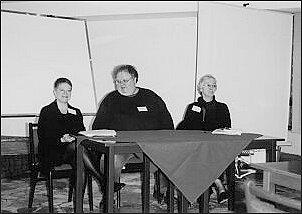 Prof. Donna Pennee, prof. Craig Tapping oraz prof. Pauline Butling