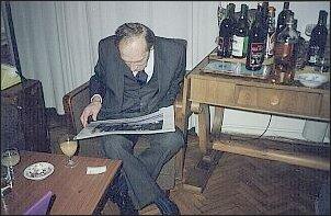 - Prof. Leszek Kołakowski (5.03.1994 r.) Foto: Archiwum M. Kubika