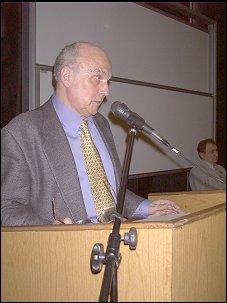 Podczas wykładu...          Foto: M. Kubik