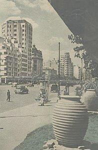Śródmieście Bukaresztu w 1949 roku