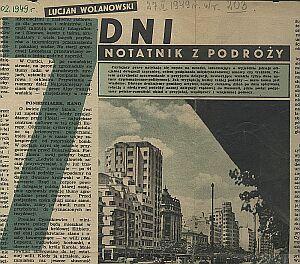 Artykuł Lucjana Wolanowskiego o wizycie w Rumunii ukazał się w ''Przekroju'' 53 lata temu