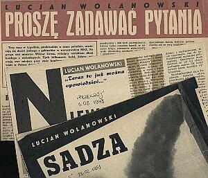Artykuły Lucjana Wolanowskiego w ''Przekroju'' z lat 40-tych i 50-tych ubiegłego stulecia...