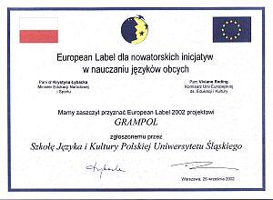 European Label 2002