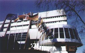 Gmach Parlamentu Europejskiego w Strasburgu