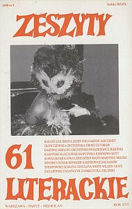 Numer poświęcony Leonor Fini (1908-1996) - wybitnej malarce, towarzyszce życia Konstantego A. Jeleńskiego
