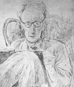Józef Czapski: autoportret (1949 r.)