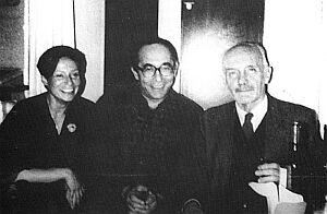 Barbara Toruńczyk, Aleksander Smolar, Konstanty A. Jeleński (1986)   (Foto: F. Krance; archiwum ZL)