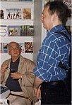 Paweł Hertz, Wojciech Karpiński. Warszawa 1997 r. (Foto: M. Kubik)