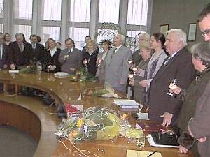 Okolicznościowy toast wygłosił prof. Włodzimierz Wójcik