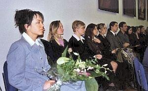 Seminarzyści też chcieli uściskać Profesora