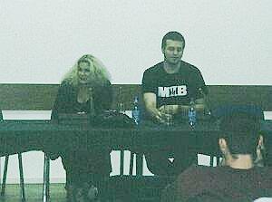Krystyna Doktorowicz i Marcin Wrona