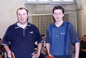 Gwiazdy II edycji Mistrzostw - Rafał Długaj (po lewej) i Marek Świerczek