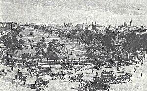 Sydney w latach 90-tych XIX wieku miało już piękne parki i szerokie aleje
