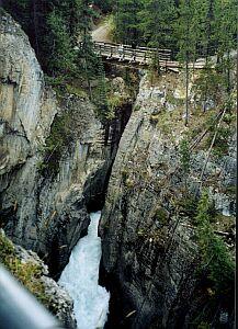 Kanion w Górach Skalistych