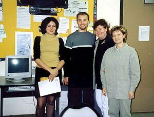 Spotkanie z nauczycielami szkoły polskiej im. Jana Pawła II w Edmonton
