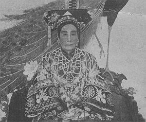 Cesarzowa z końcowego okresu cesarstwa