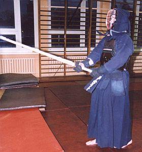 Samo tylko nałożenie stroju kendoki to odrębna i czasochłonna ceremonia