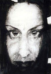 Jeden z autoportretów Małgorzaty Gross