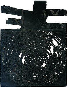 Praca z cyklu: '' Il y a de tout (YADTOUT)'', akwaforta z akwatintą (49x68 cm)