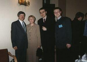 Członkowie Jury z Białegostoku wraz z uczestnikami konkursu