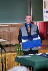 Zwycięzca konkursu Michał Miodek