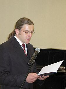 Sebastian Drzazga – Przewodniczący Studenckiej Poradni Prawnej